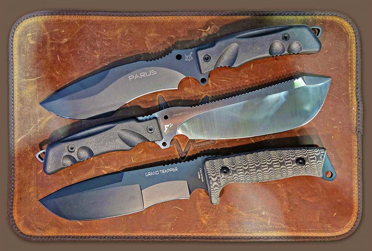 FOX Knives è un marchio leader in tutto il mondo nella produzione industriale di coltelli