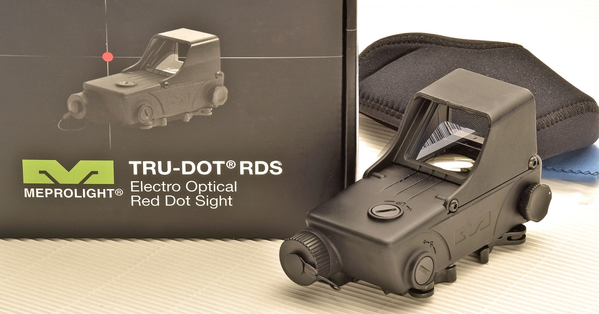 Meprolight Tru-Dot RDS: il punto rosso all'israeliana