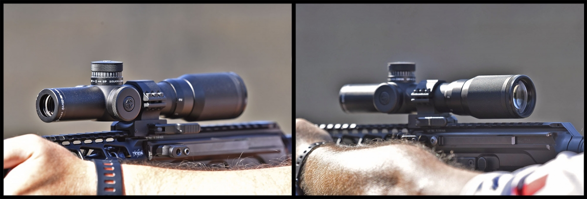 Sightmark Core TX 1-4x24 AR-223 BDC and Sightmark Rapid AR 1-4x20 SHR-223 riflescopes