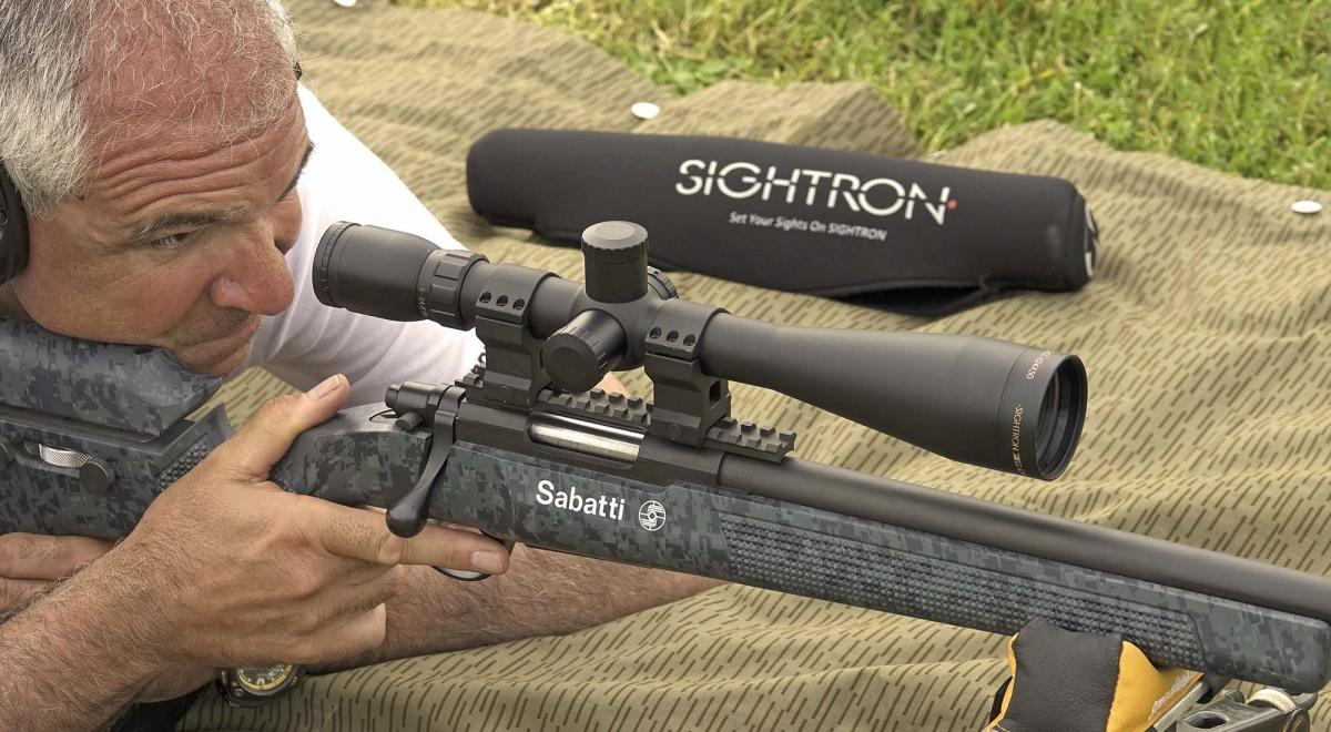 Cannocchiale Sightron SIIISS 6-24x50 LR Dot