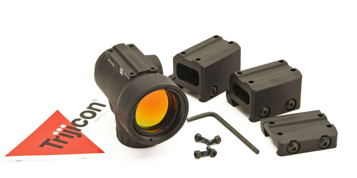 The MRO, here seen with Trijicon's own, three mounting options
