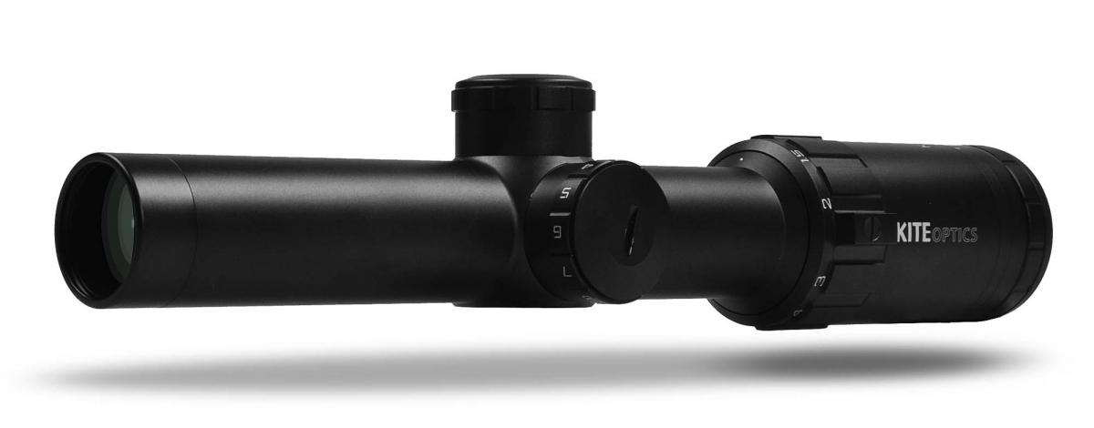 Nuovo cannocchiale Kite Optics KSP HD2 1-6x24i