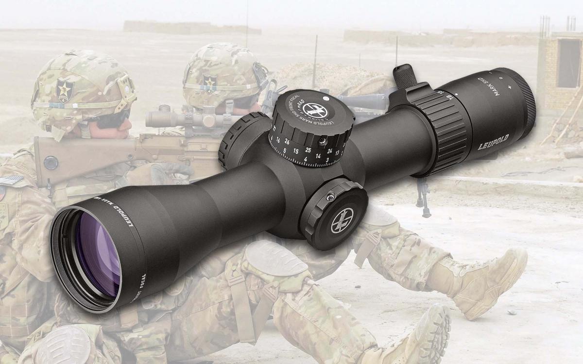 Leupold Mark 5HD 3.6-18x44: il nuovo cannocchiale scelto dall'Esercito USA per equipaggiare i fucili di precisione M110 SASS