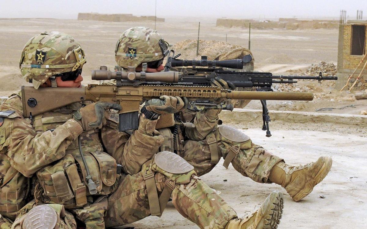 Il cannocchiale Leupold Mark 5HD 3.6-18x44 è stato adottato per essere montato sull'M110 SASS - Semi Automatic Sniper System