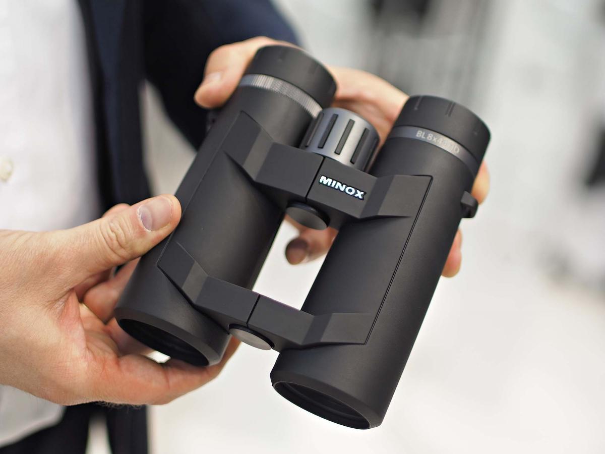 The new Minox BL 8x44 HD binocular