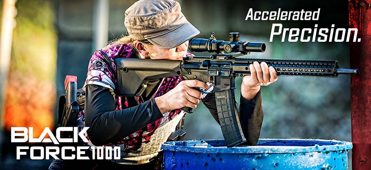 The Nikon BLACK FORCE1000 is thedicated to modern sporting rifles shooters