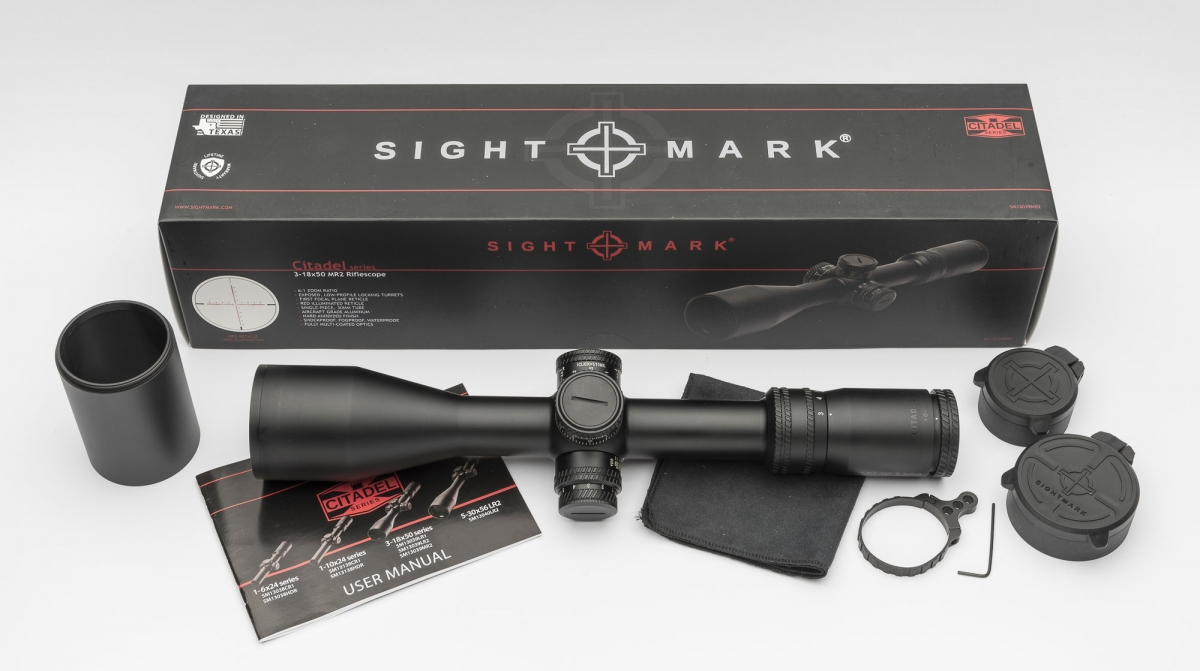 Cannocchiale Sightmark Citadel 3-18x50 MR2