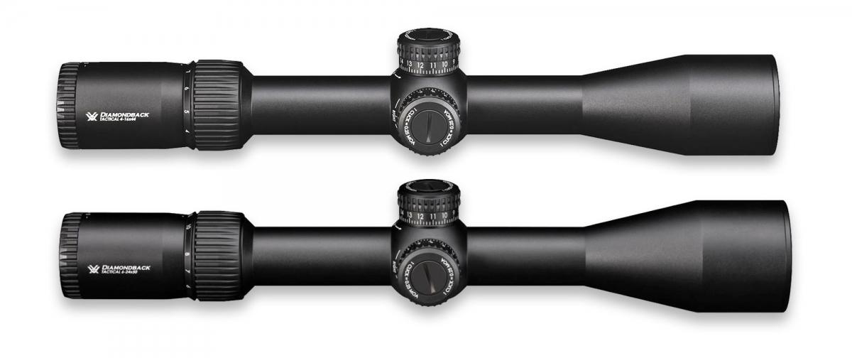 Le nuove ottiche VORTEX Diamondback Tactical FFP 4-16x44 e 6-24x50
