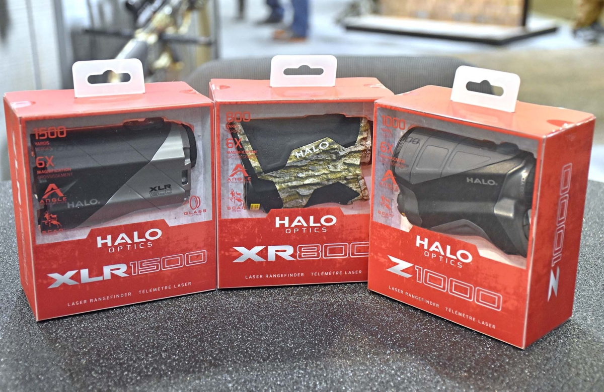 HALO Optics new laser rangefinders