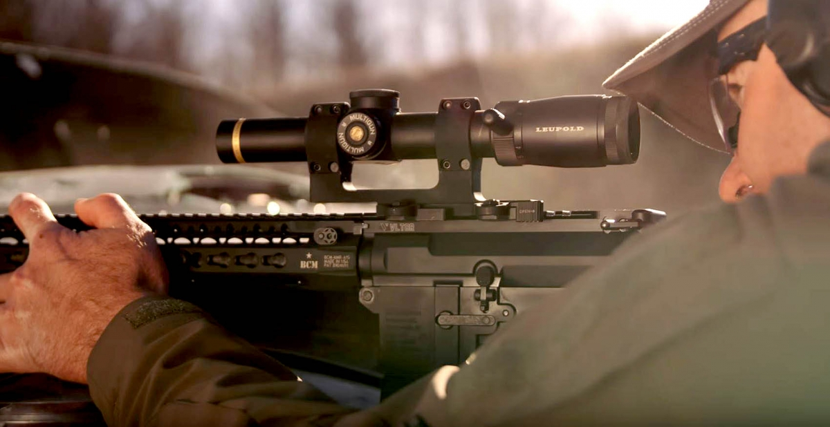 The new Leupold VX-6HD 1-6x24 IR CDS-ZL2 MultiGun riflescope