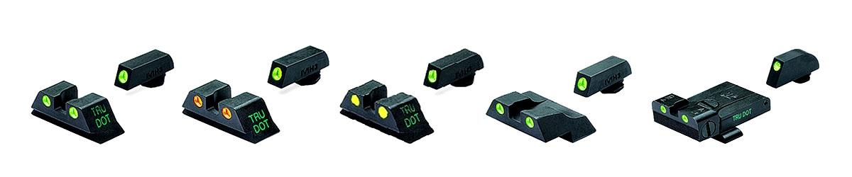 MEPROLIGHT SELF-ILLUMINATED NIGHT SIGHTS for pistols, rifles and shotguns