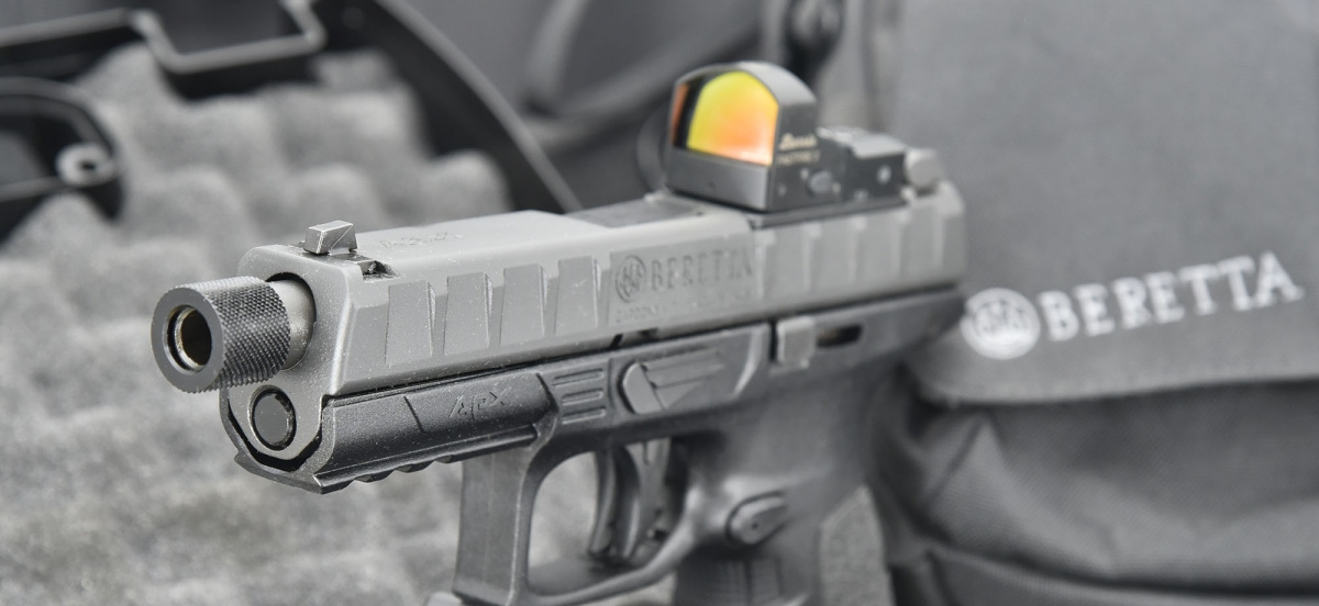 red dot sight for Beretta APX Compact Hunting Lights & Lasers
