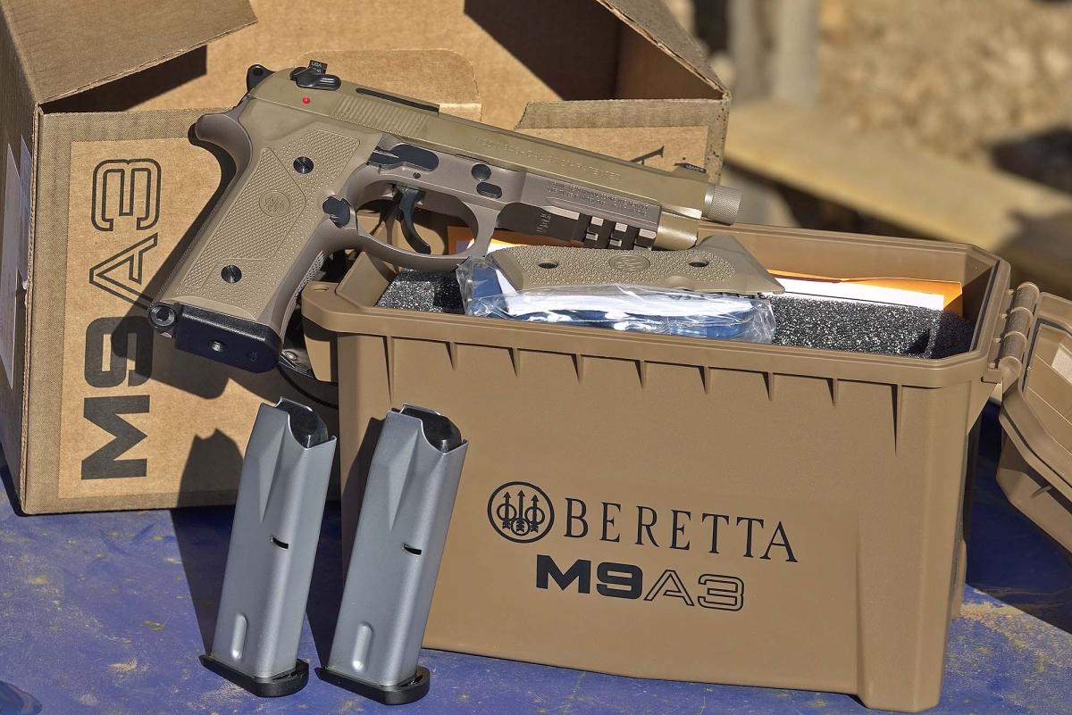 La Beretta M9A3, oggi disponibile sui mercati civili, è stata inizialmente pensata per impieghi militari