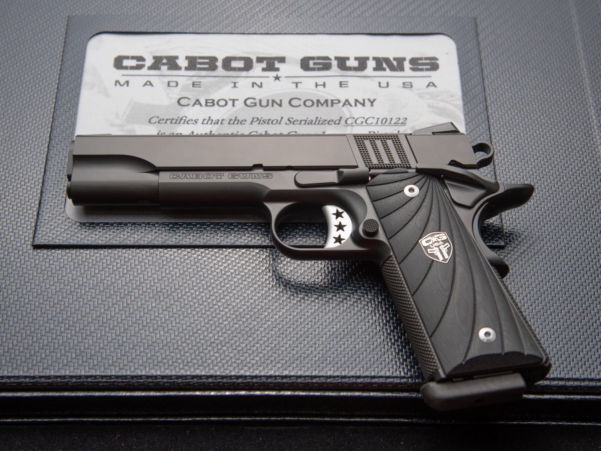 Cabot Guns S100: the Entry Level Luxury pistol