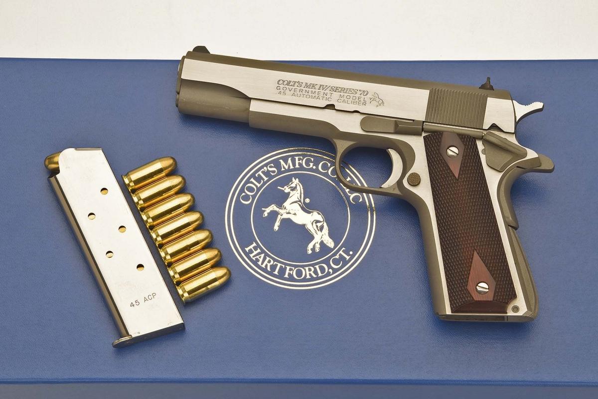 Colt 1911 Mark IV Series 70
