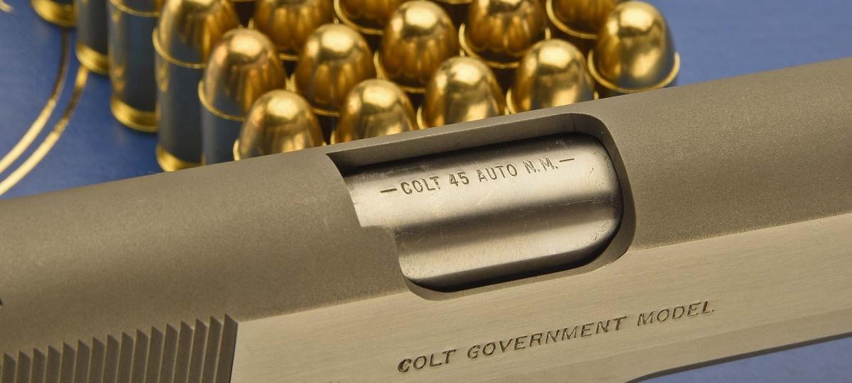 .45 ACP: è il calibro storico della Colt 1911