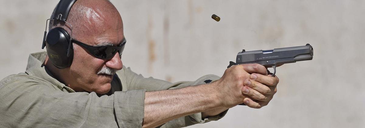 La Colt 1911 Mark IV Series 70 al tiro: morbida come tutte le 1911