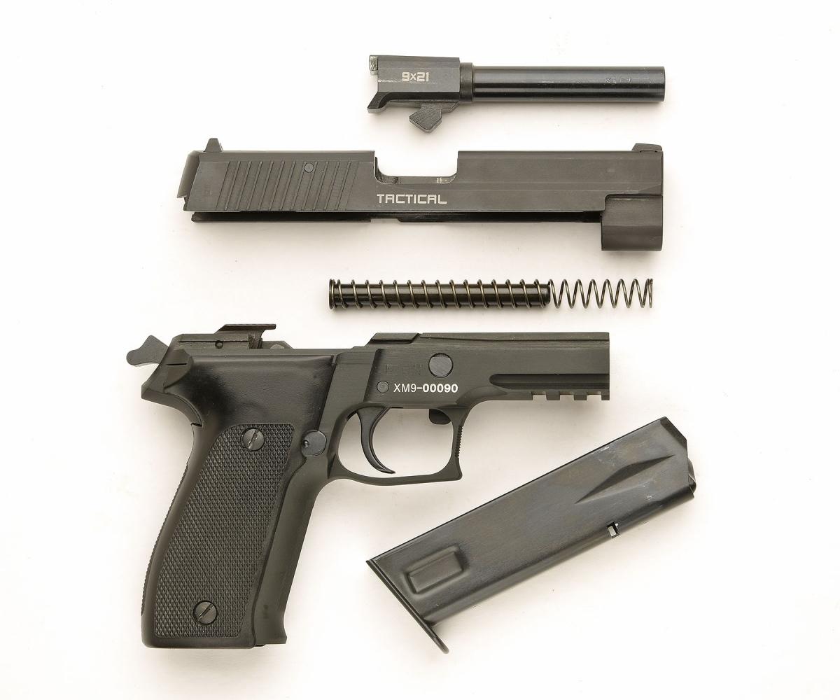 l'arma in smontaggio di campagna