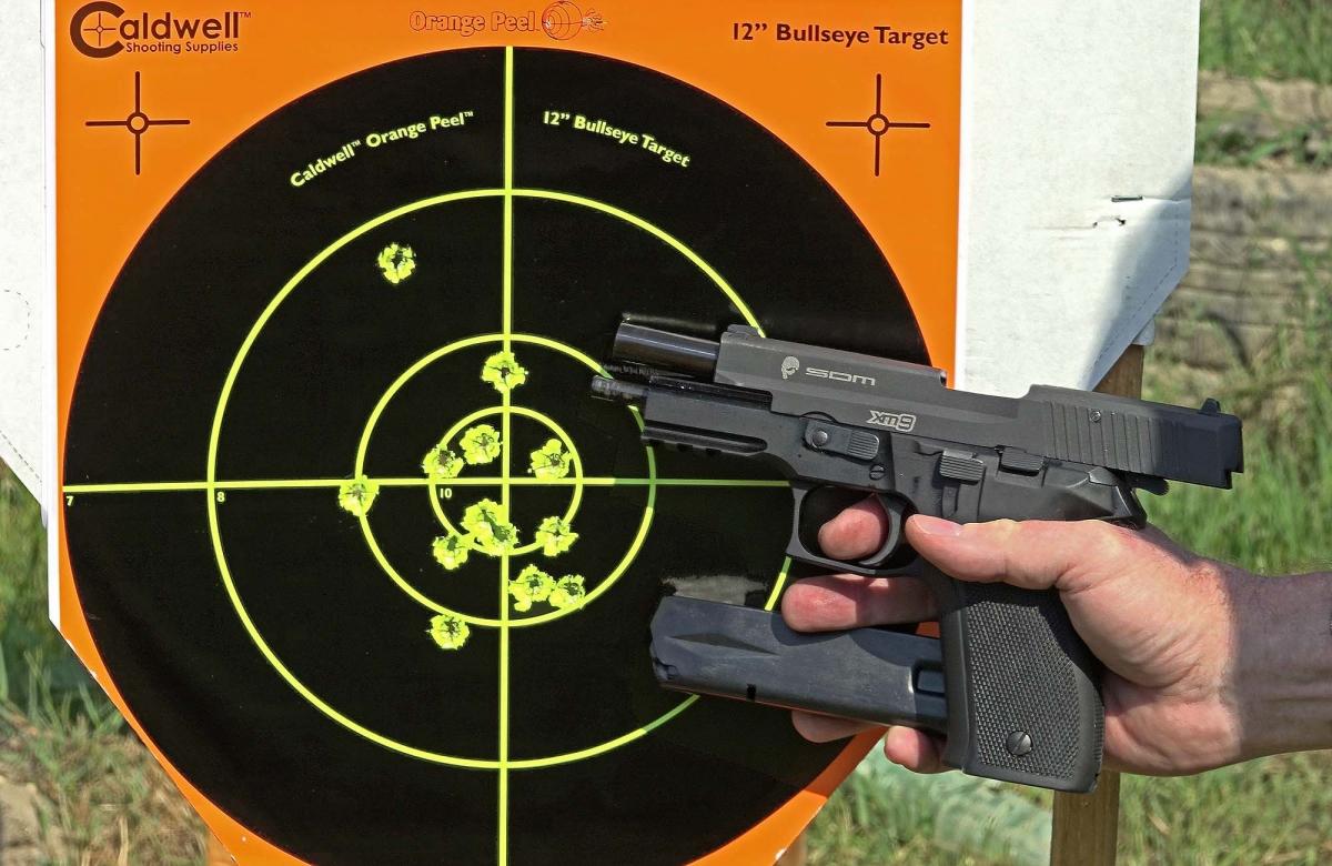 VIDEO: SDM XM9: la SIG P226 venuta dall'oriente