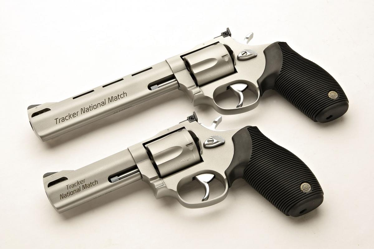 Taurus Tracker National Match .44 Magnum revolver | GUNSweek.com