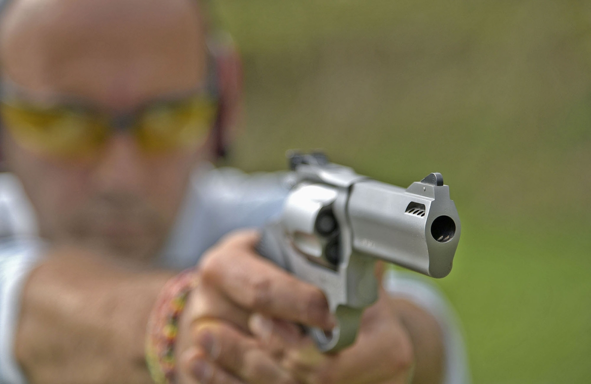 We took the .44 Magnum Taurus Tracker National Match double-action revolver to the range... let's see how did it fare!