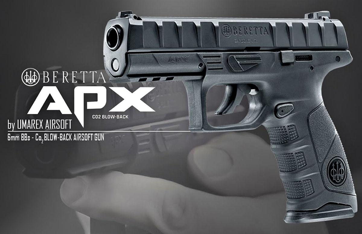 Beretta APX pistol: the Umarex airsoft replica