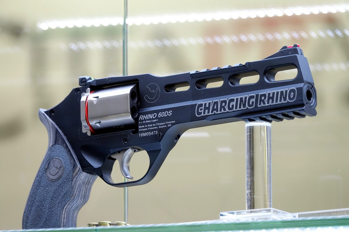 "The new Chiappa Firearms ""Charging Rhino"" revolver"