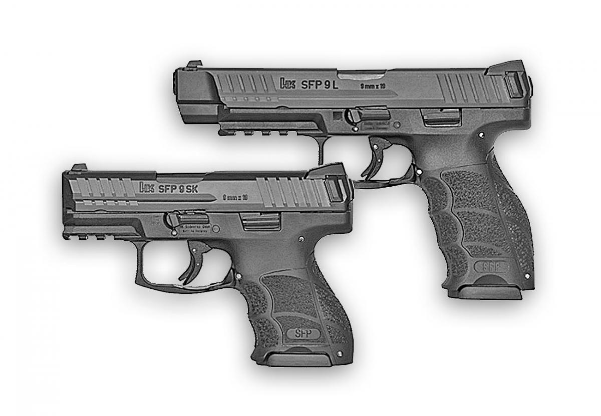 Heckler & Koch presenta le nuove versioni della SFP9