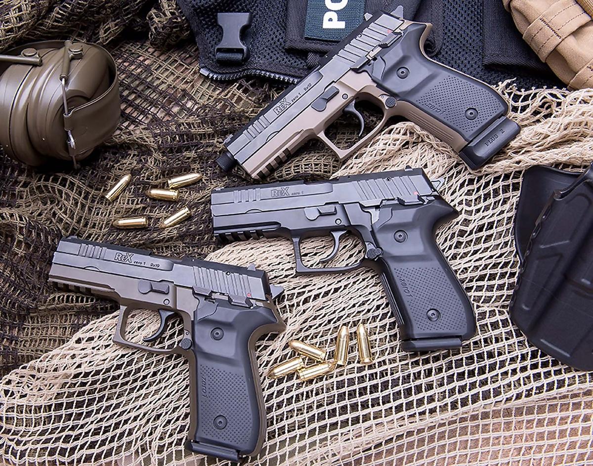 Arex REX zero 1S Semiautomatic Pistol