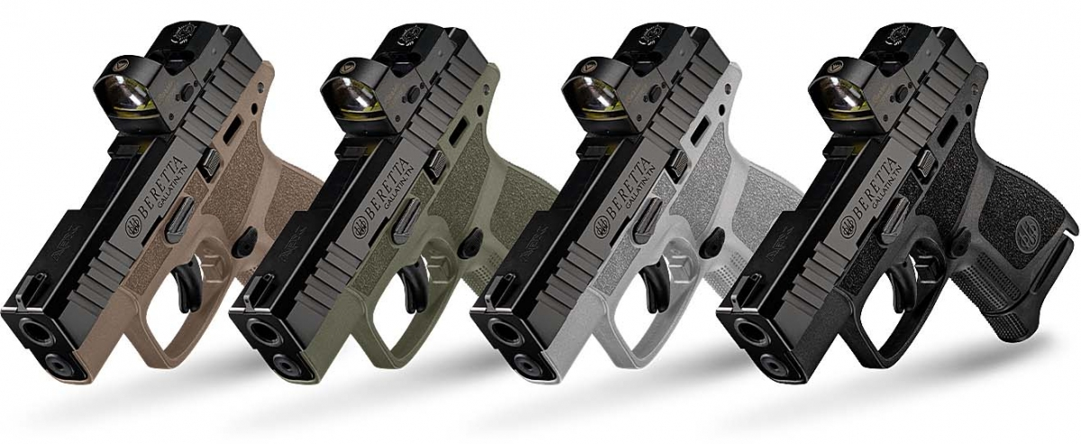 Beretta introduces the APX A1 Carry pistol
