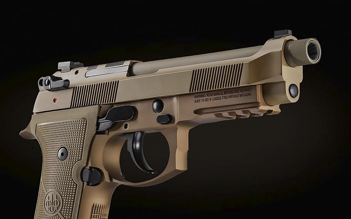 Beretta introduces the new M9A4 semi-automatic pistol