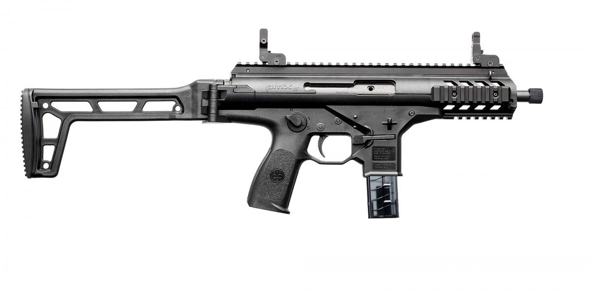 Beretta PMXs semi-automatic pistol-caliber carbine, right side