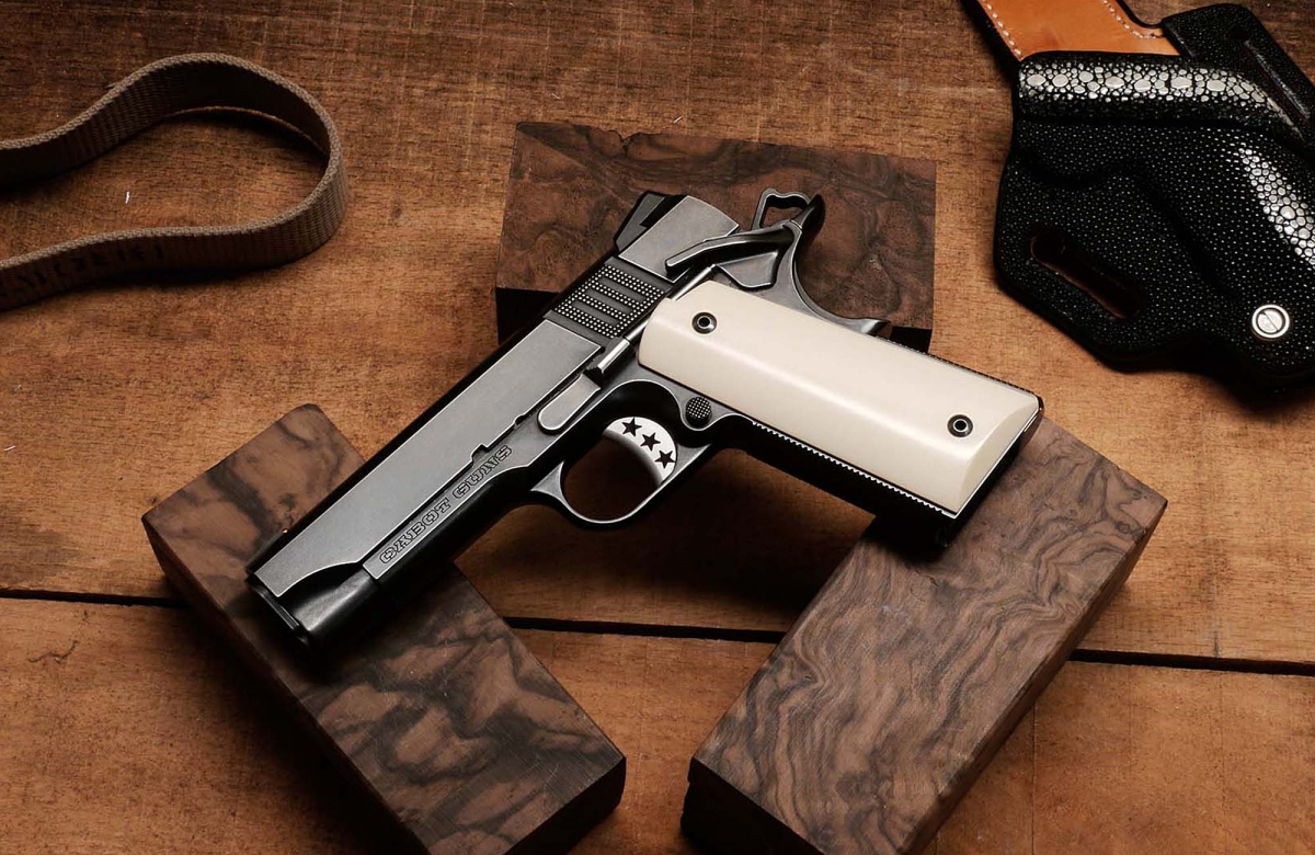 1911 pistol enthusiasts in Europe, rejoice! The Cabot Guns pistols, the world's best 1911s, are finally at your door!