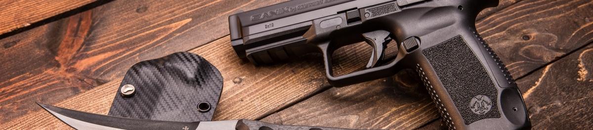 Le pistole polimeriche TP9 rappresentano la linea di punta del brand Canik