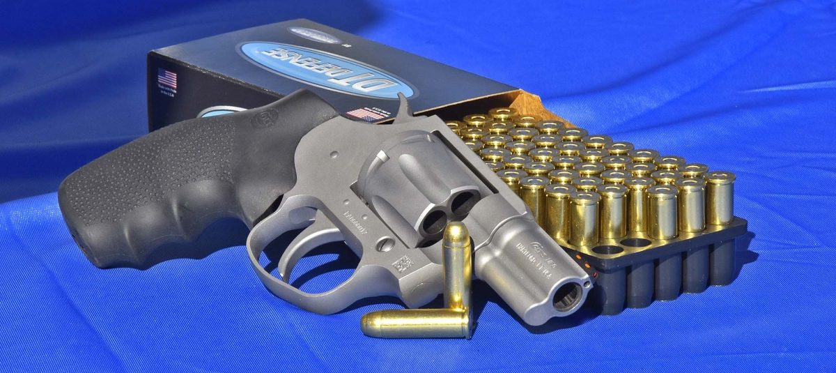 Colt's Cobra double-action revolver is also available in Europe!