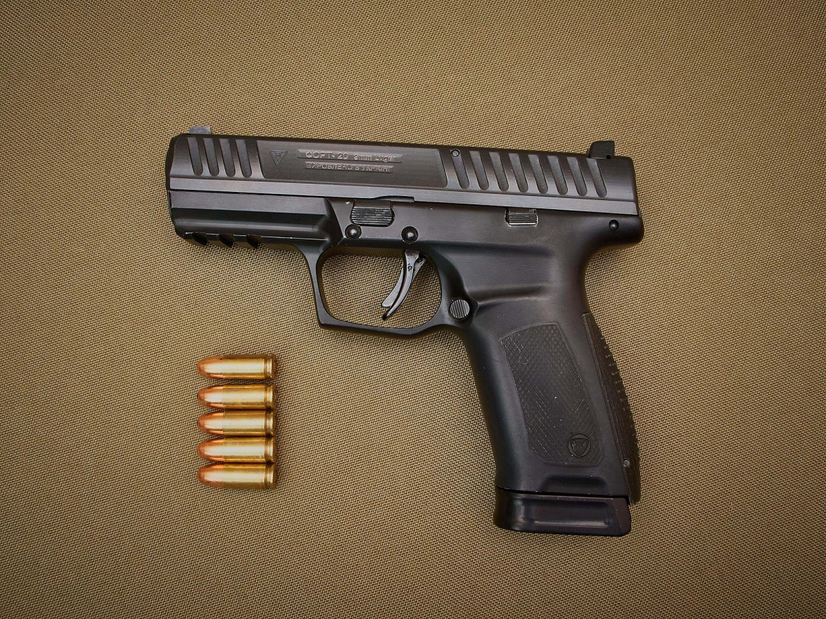 """The RPC """"Fort"""" Science Industrial association, headquartered in Vinnytsia (Ukraine), introduces the FORT-20 – their first 9x19mm striker-fired pistol"""