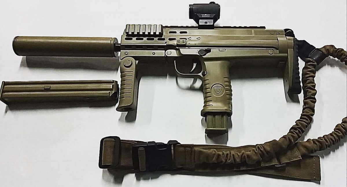 FORT-230 sub-machine gun, a new PDW from Ukraine