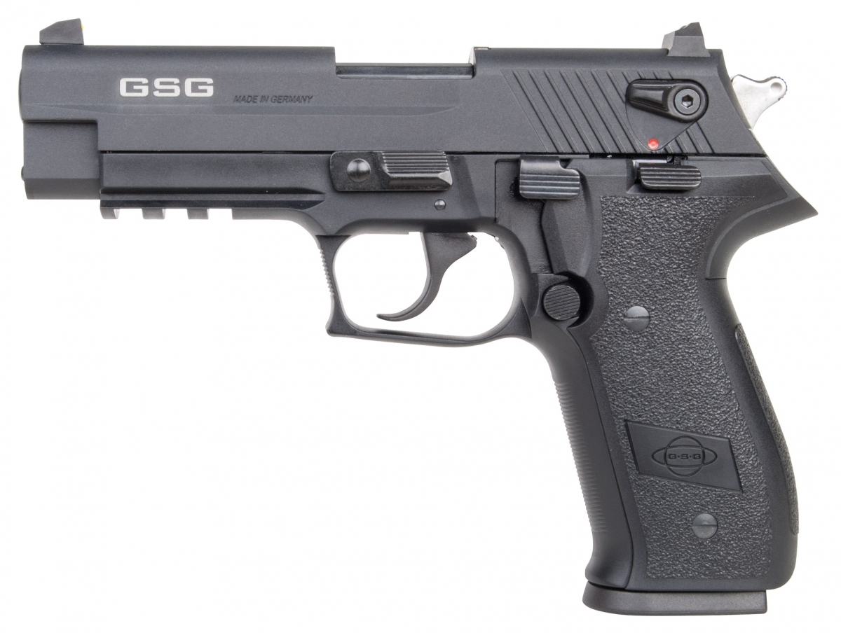 The German Sport Guns company introduces the Firefly pistol, a familiar design to sport shooters