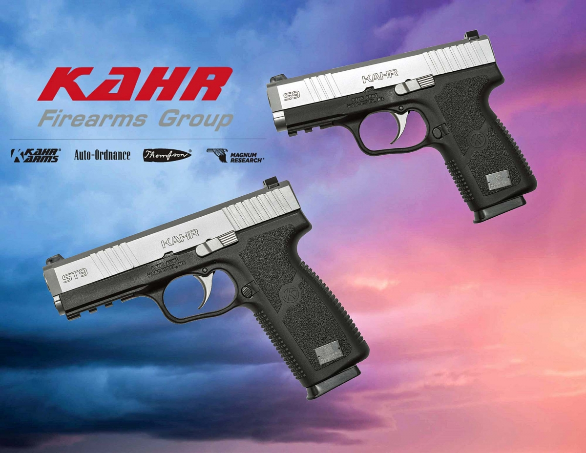 Kahr Arms introduced the S9 and ST9 pistols at the 2017 NRAAM