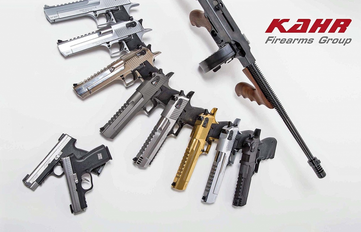 The Kahr Firearms Group owns and operates well-known brands such as Kahr Arms, Magnum Research, Auto-Ordnance and Thompson