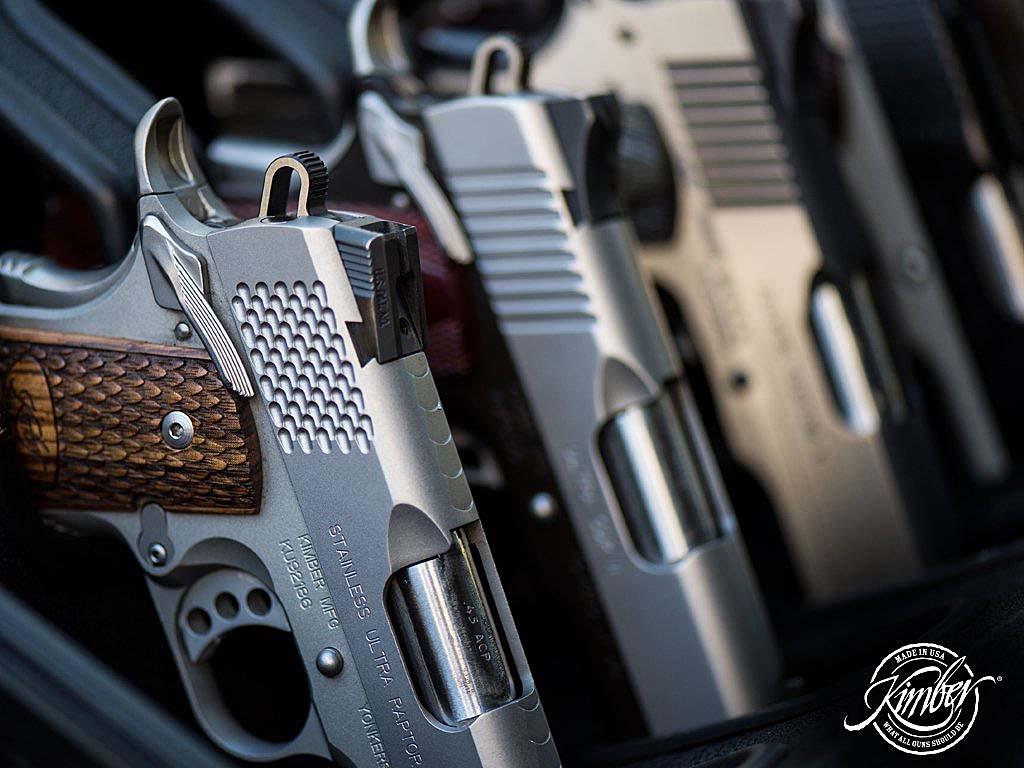 Novità 2021 sul mercato italiano, le Kimber Lightweight sono quattro pistole di derivazione 1911 con fusto in alluminio importate in Italia da Paganini