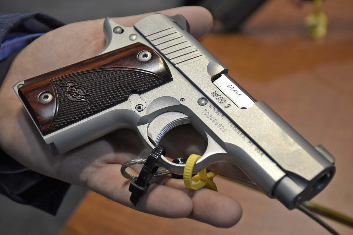 Kimber Micro 9 pistols
