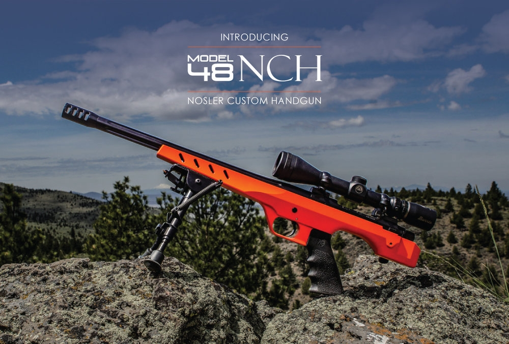 The Model 48 Nosler Custom Handgun is the ultimate precision bolt-action handgun