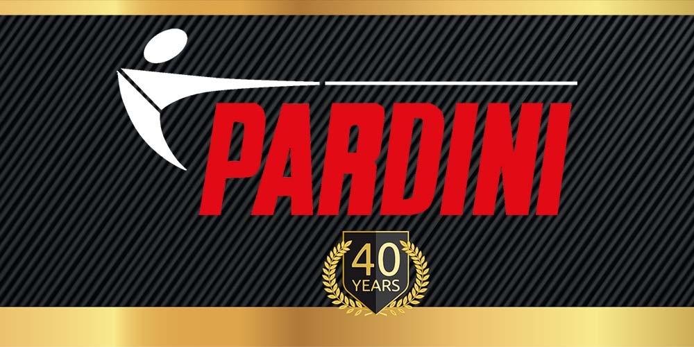 Pardini 40 years anniversary logo