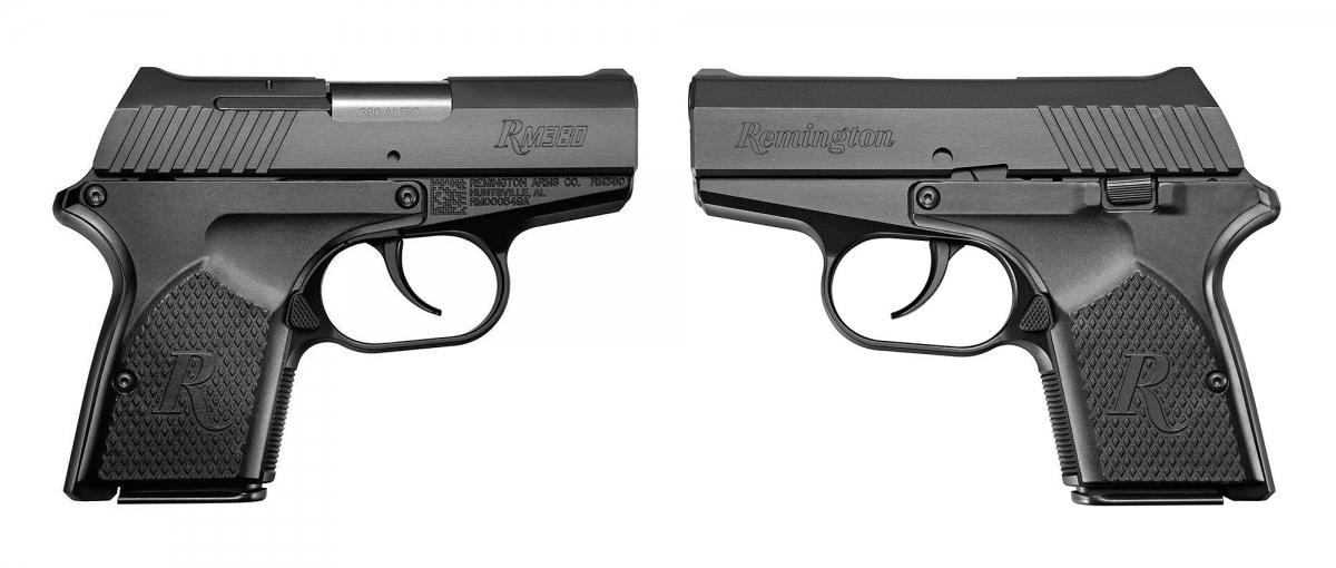 Side views of the pocket pistol