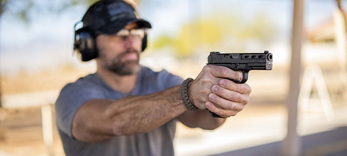 Rock Island Armory introduces the STK100 9mm semi-automatic striker-fired pistol, built on a patent-pending, clamshell design modular aluminum frame