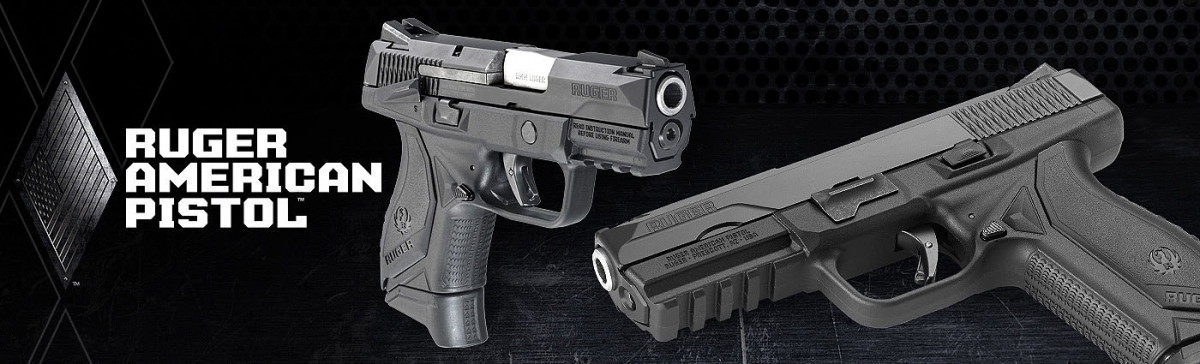 The Ruger American Pistol Compact model offers the reliability of the duty-size gun in a smaller, lighter, more concealable package