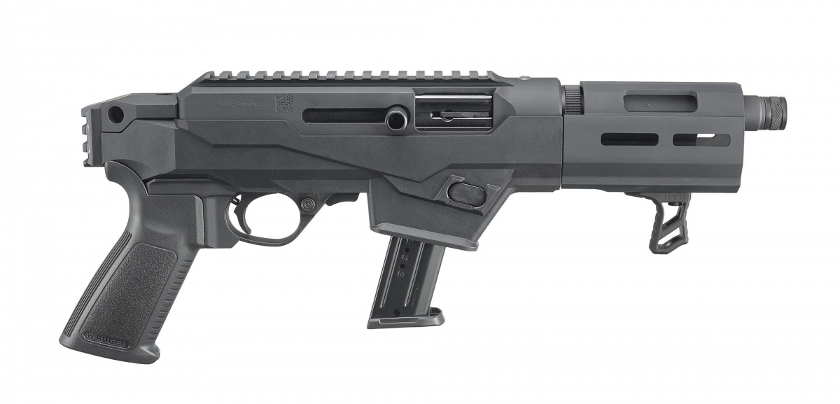 Ruger PC Charger pistol, right side