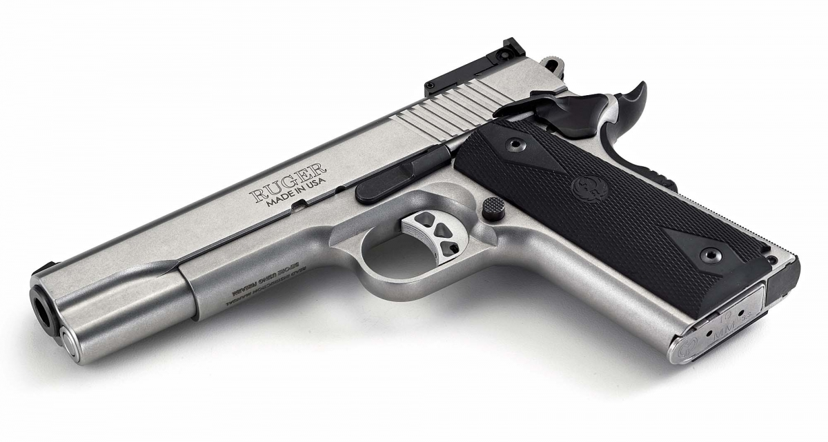 The new SR1911 is Ruger's first ever 10mm semi-automatic pistol