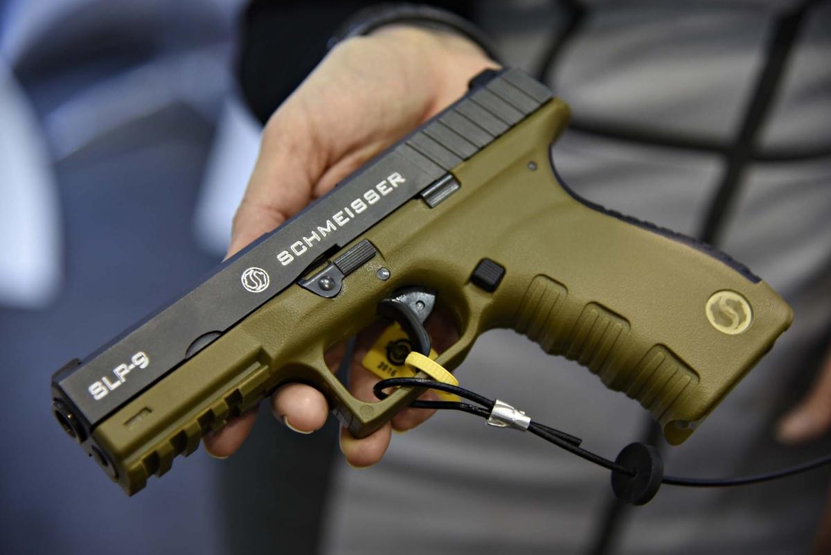 Schmeisser SLP-9 Semiautomatic Pistol